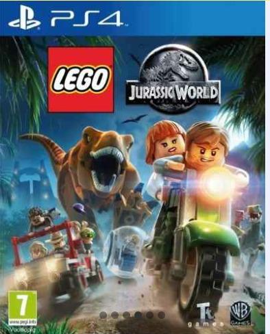 Lego Juego Jurasic World Para Ps4 Bs 20 00 En Mercado Libre