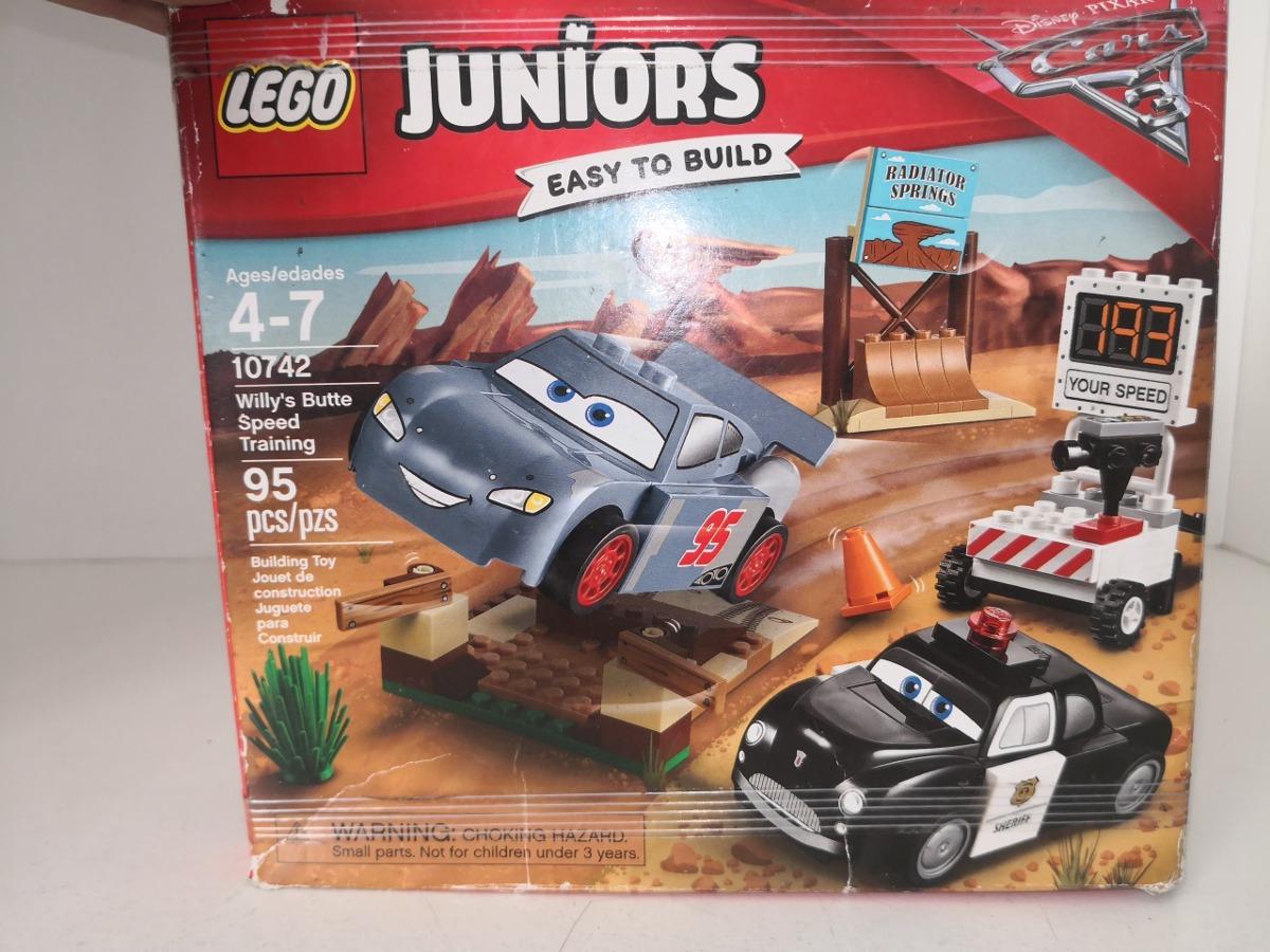 Lego Junior Cars 3 Set Mode 10742 Willy 398 00 En Mercado Libre