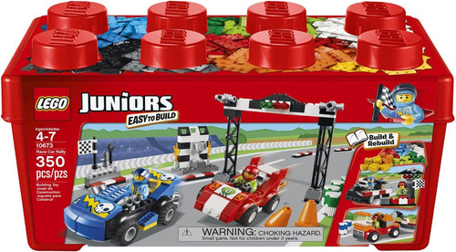 lego junior race car rally 10673