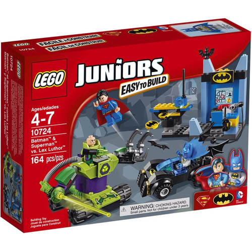 lego juniors 10724 batman superman vs lex luthor mundomanias