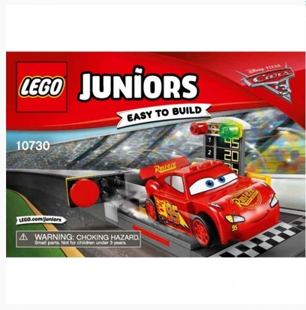 10730 Lego Juniors Rayo Mcqueen Lanzador de velocidad
