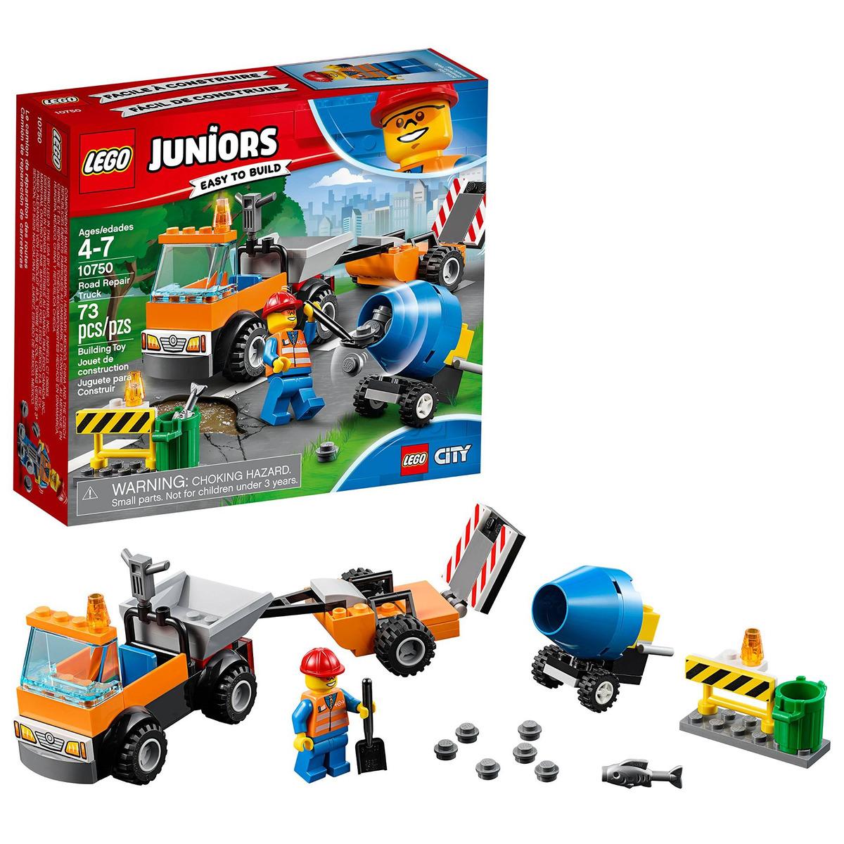 Lego De Carreteras 10750 Juniors Reparación Buildi Camión 76gIYfyvbm