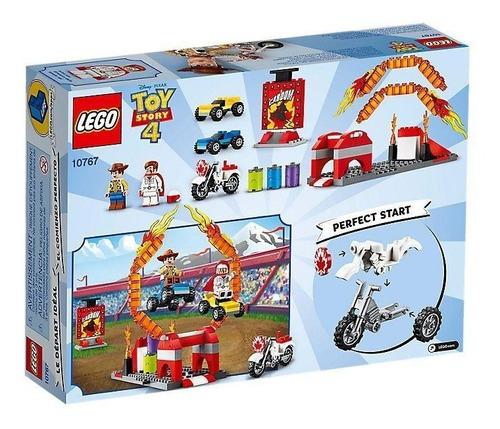 lego juniors toy story 4 espectáculo de duke caboom 10767