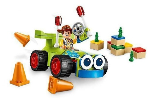 lego juniors toy story 4 woody y rc 10766