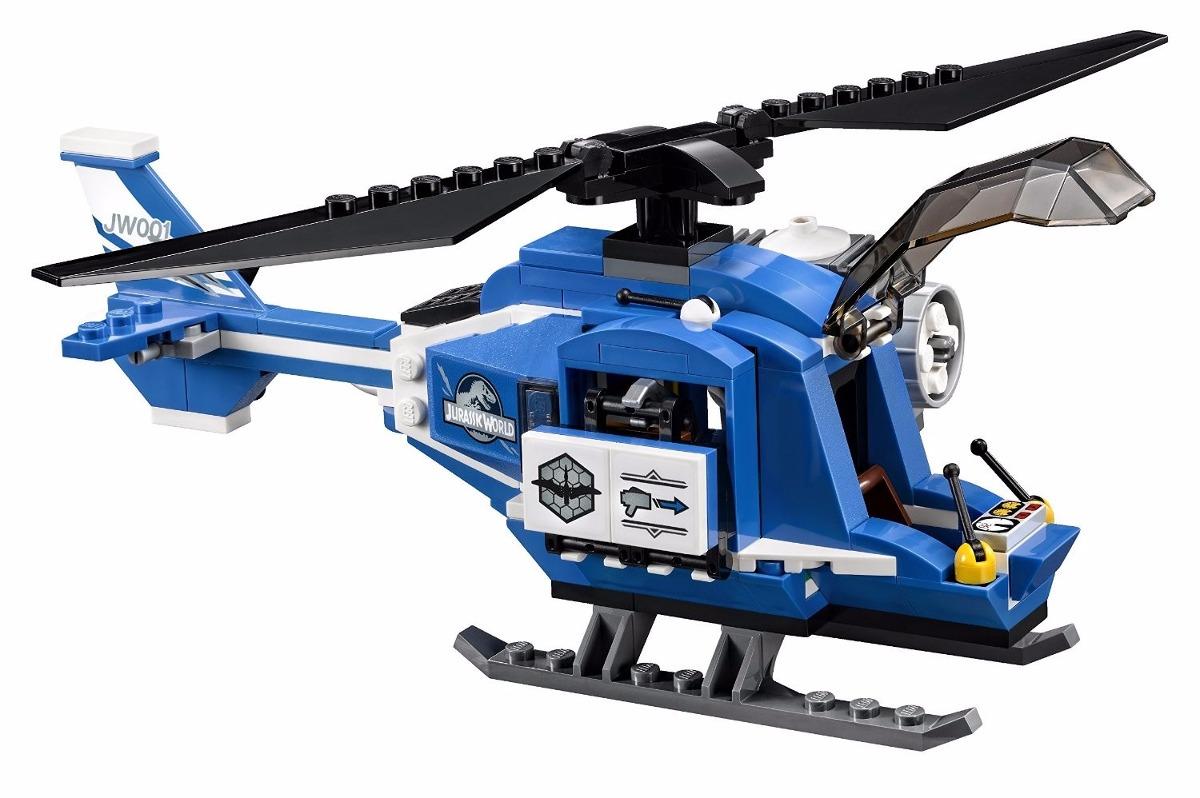 Elicottero Jurassic World : Lego jurassic world pteranodon capture modelo