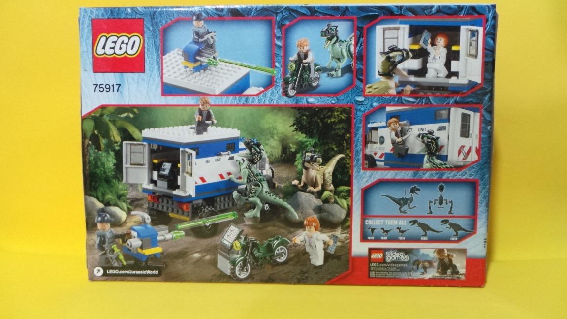 Lego Jurassic World. Cargando Zoom.