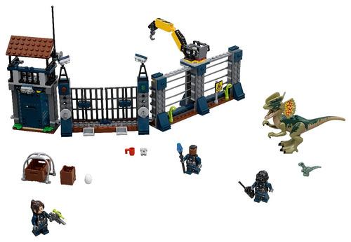 lego® jurassic world -ataque del dilofosaurio (75931)