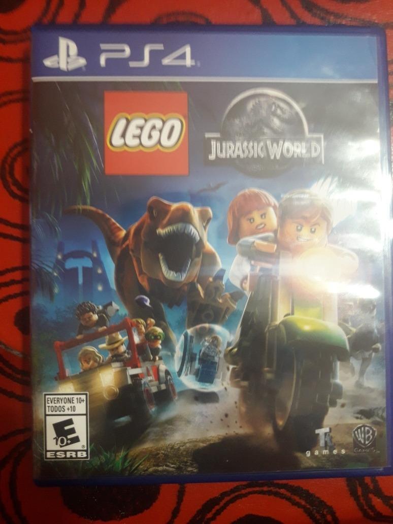 Lego Jurassic World Fisico Ps4 Juego 860 00 En Mercado Libre