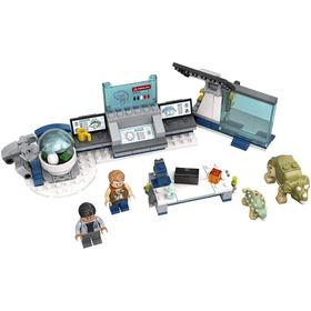 Lego Jurassic World Laboratorio Del Dr. Wu Fuga De Las Cría