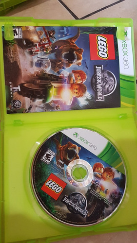 lego jurassic world original xbox 360