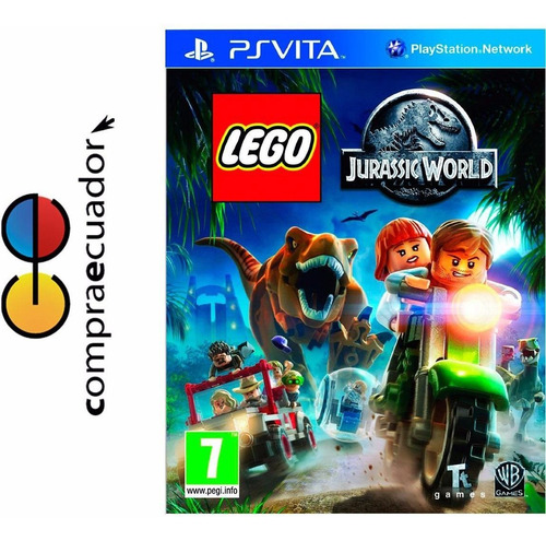 lego jurassic world ps vita original sellado nuevo psvita