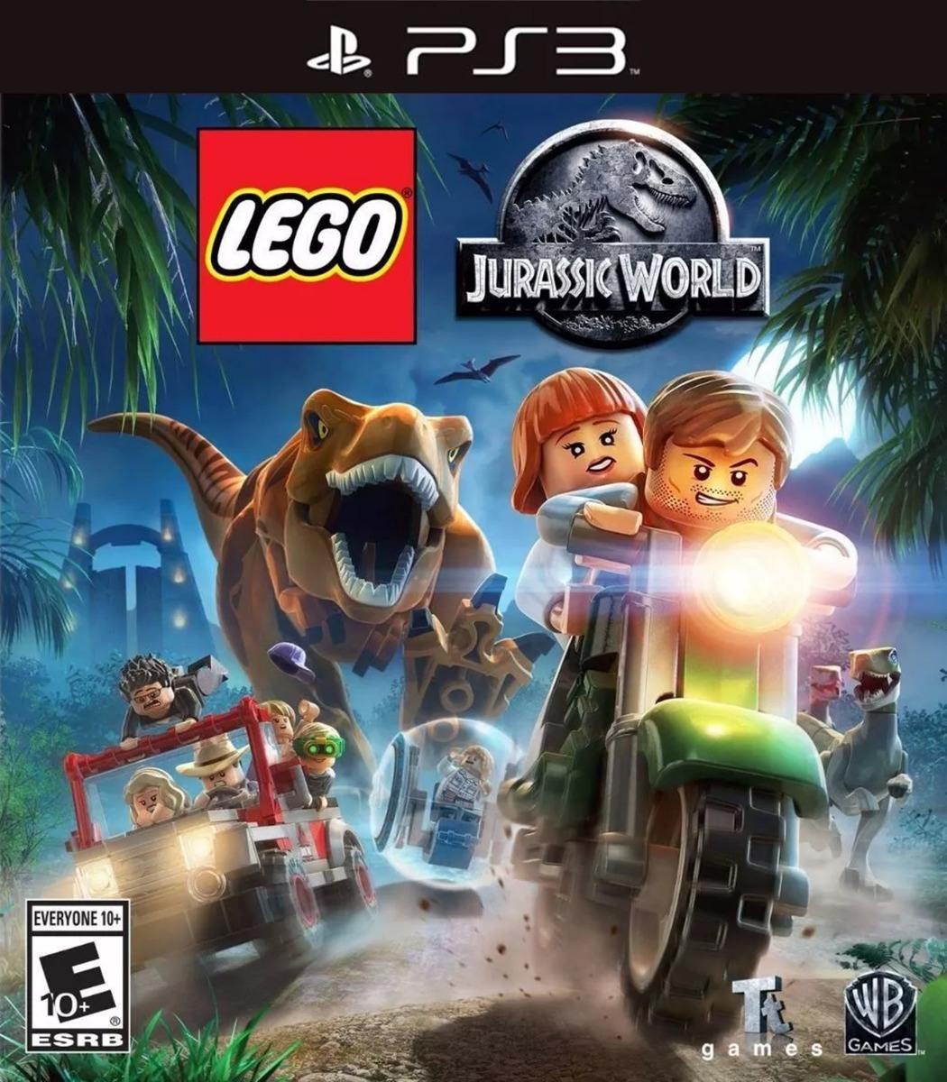 LEGO JURASSIC WORLD SEMINUEVO