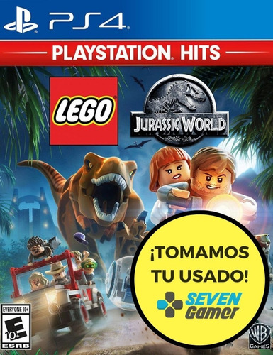 lego jurassic world ps4 juego fisico sellado sevengamer