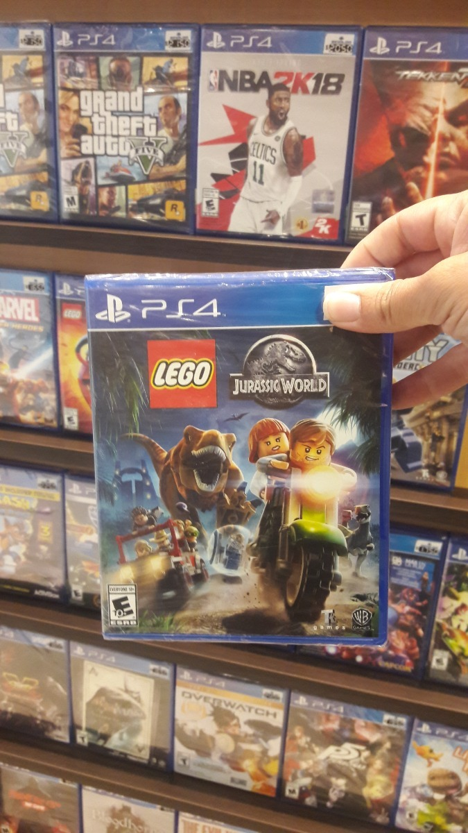 Lego Jurassic World Ps4 Juego Sellado 2 390 00 En Mercado Libre