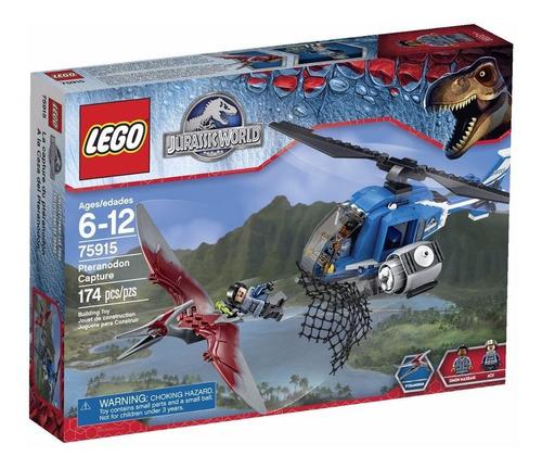 lego jurassic world pteranodon capture modelo 75915