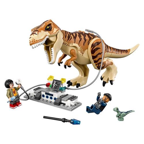 lego jurassic world - transporte t-rex - 75933