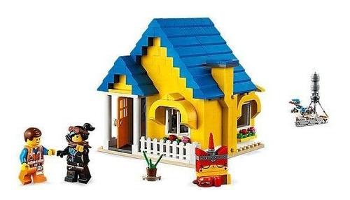 lego lego movie 2 casa cohete de rescate de emmet 70831