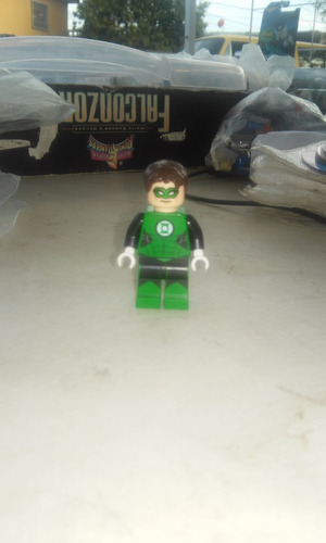 lego linterna verde.