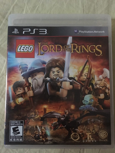 lego lord the rings ps3