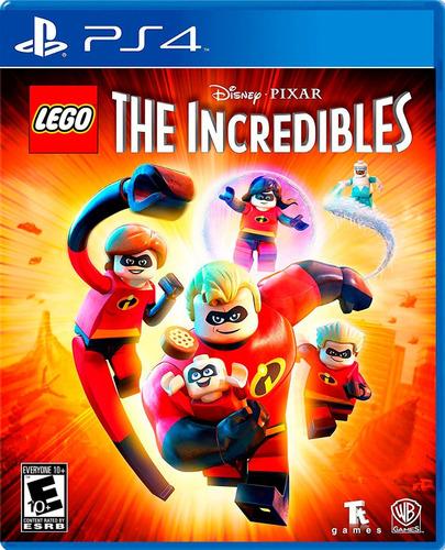 lego los increíbles - playstation 4