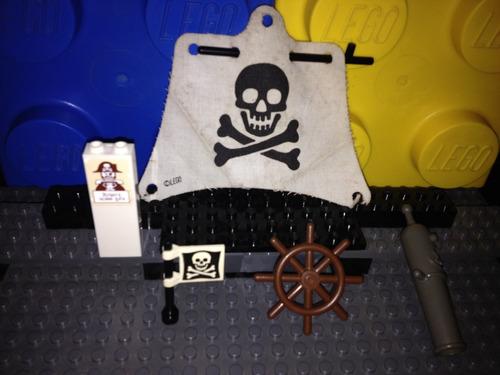 lego lote #1 de accesorios serie piratas