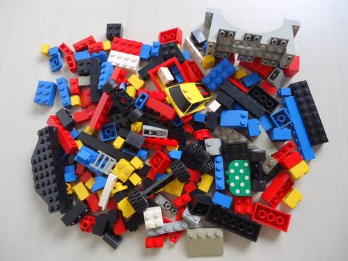 lego - lote com mais de 200 peças kit número 4 confira !