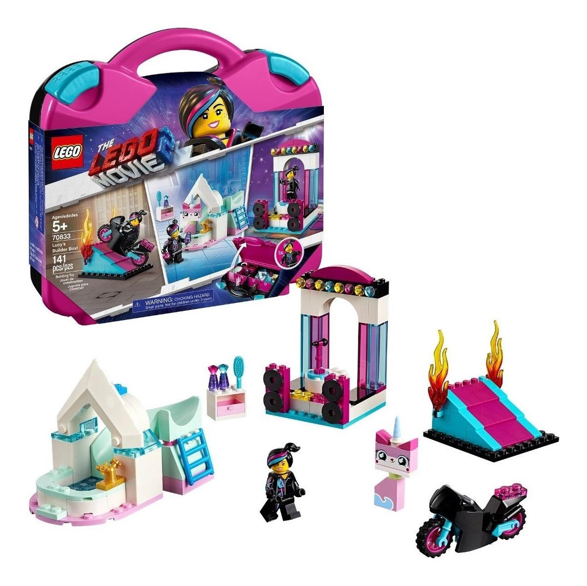 La película Lego 2 Caja constructor de Lucy caso Unikitty Moto Play Set 70833 Nuevo