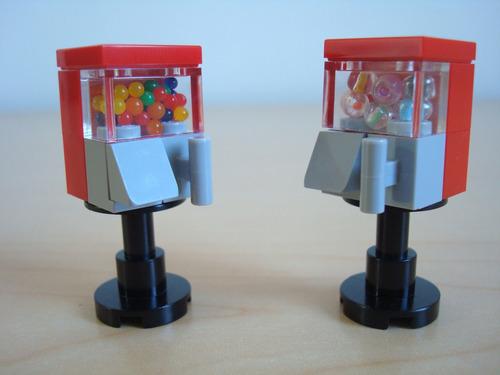 lego  maquinitas de chicles y premios city creator original