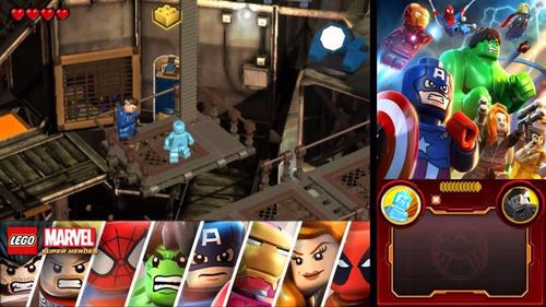 lego marvel 3ds