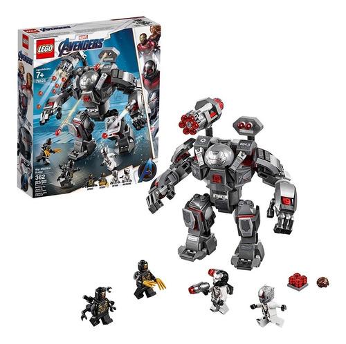lego marvel avengers endgame war machine buster 76124