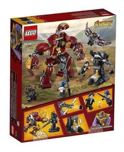 lego marvel avengers infinity war the hulkbuster