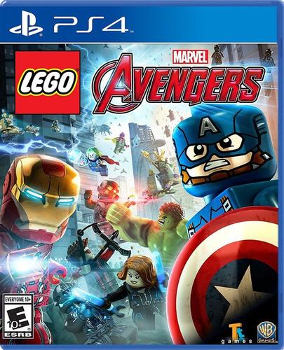 lego marvel avengers - ps4 fisico nuevo & sellado