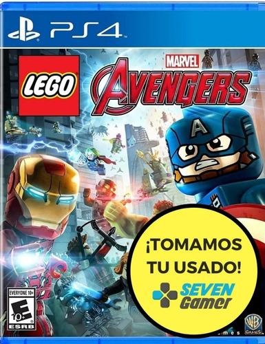 lego marvel avengers ps4 juego fisico original nuevo sellado