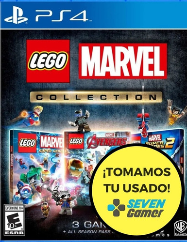 lego marvel collection ps4 juego fisico sellado sevengamer