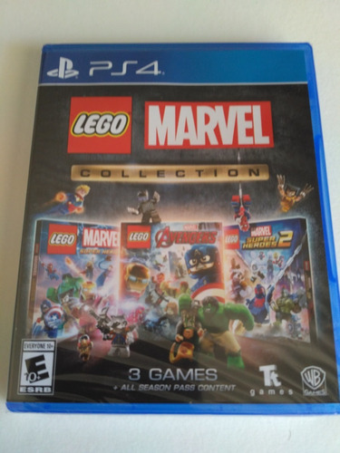 lego marvel collection ps4 nuevo fisico sellado envio gratis
