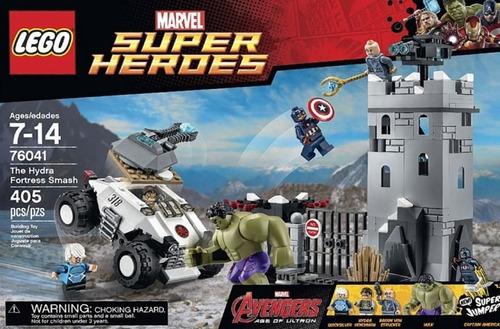 lego marvel heroes avengers the hydrafortress modelo 76041