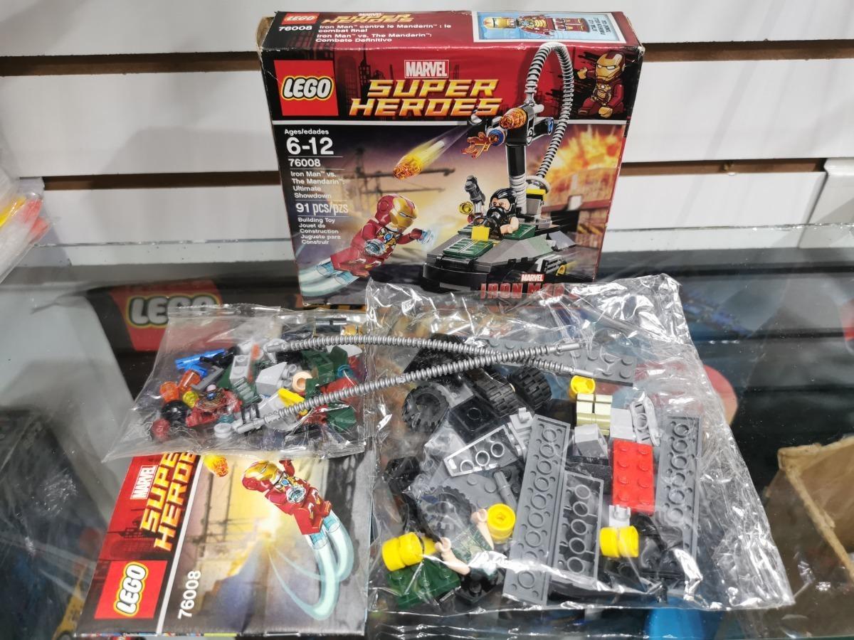 Lego Super Heroes personaje the Mandarin 76008