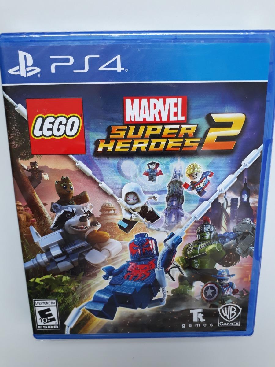 Lego Marvel Super Heroes 2 Juego Ps4 Play 4 Nuevo Y Sellado S 85