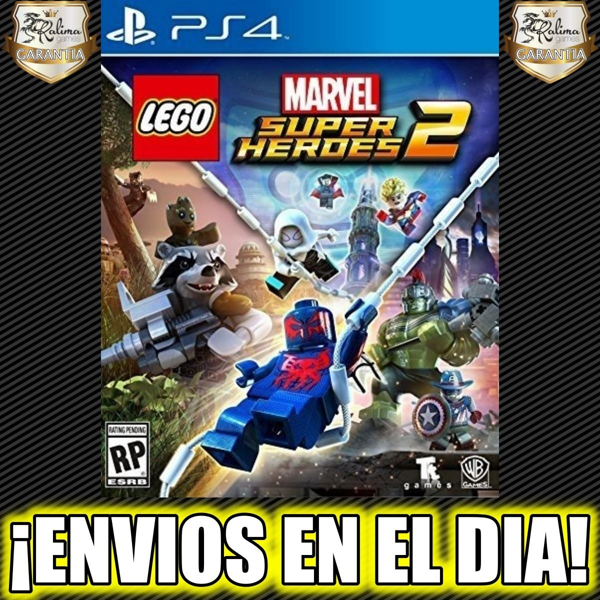 Lego Marvel Super Heroes 2 Ps4 Juego Playstation Digital 2 718