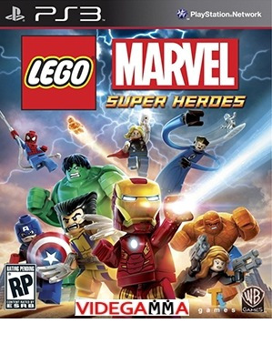 lego marvel super heroes - español - playstation 3
