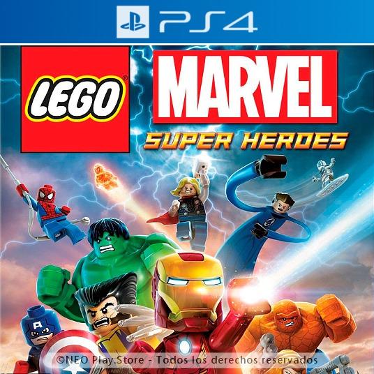Lego Marvel Super Heroes Juego Ps4 Espanol Ninos Chicos 499 00