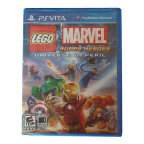 Lego Marvel Super Heroes Para Ps Vita (nuevo Y Sellado)