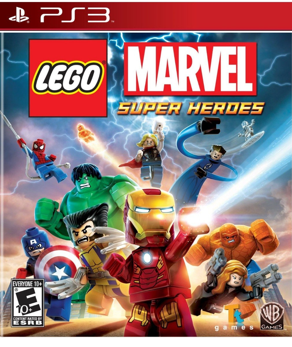 Lego Marvel Super Heroes Ps3 Digital Playstation Juegos Ps3 Bs