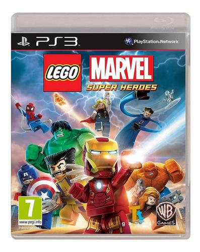 lego marvel super heroes ps3. físico nuevo. surfnet store