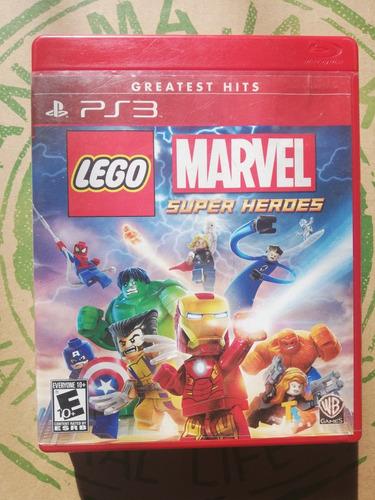 lego marvel super héroes ps3 usado