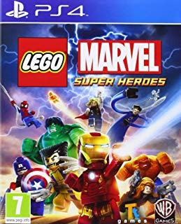 lego marvel super heroes (ps4)  envío gratis