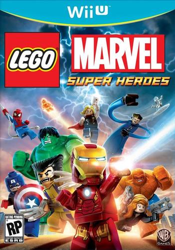 lego marvel super heroes wii u - original - sellado - fisico