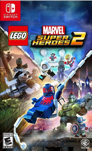 lego marvel superheroes 2 nintendo switch fisico sellado