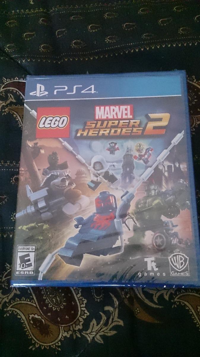 Lego Marvel Superheroes 2 Sellado Juego Playstation 4 Ps4 20 000