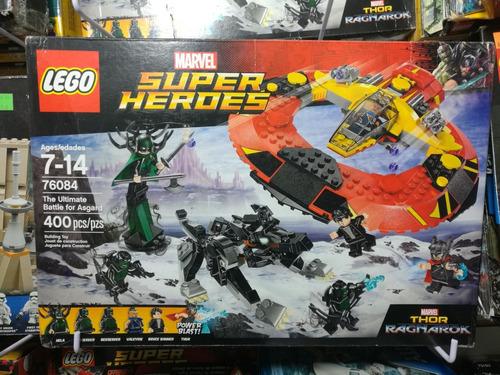 lego marvel thor ragnarok batalla definitva por asgard 76084